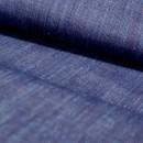 縦糸にわずかにのぞく赤が布の奥ゆきをつくる 本場結城紬 縞
