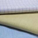 紬の重厚なイメージを新たにする、かろやかなデザイン 本場結城紬 地機縞3種